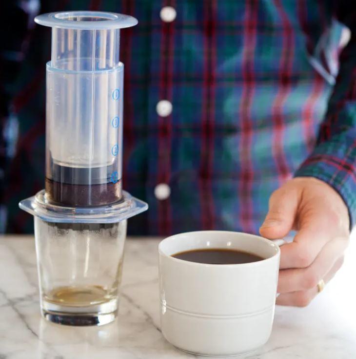 AeroPress koffie maken